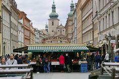 Havel's Market (open daily, well-priced souvenirs) - Prague, Czech Republic