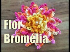 Aprendendo Flores em Crochê - FLOR LORENA - YouTube