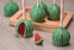 A Watermelon Cake Pops Recipe That Will Blow Your Kids' Minds