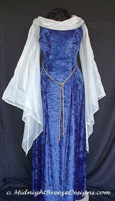 Scarf Sleeves as an Easy Addition for Creating a Renaissance Dress
