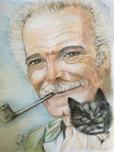 Georges Brassens by noisette