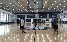 Nets Practice Ahead of Sixers Matchup