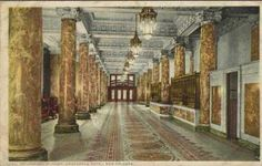 Step back in time with this wonderful picture of The Roosevelt New Orleans, A Waldorf Astoria Hotel's lobby when it was The Grunewald Hotel.