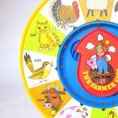 Vintage 1983 Mattel See 'N Say