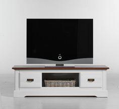 Tv-unterteil Pinie Massiv Weiss/ Cognac Woody 155-00001 Landhaus Jetzt bestellen unter: https://moebel.ladendirekt.de/wohnzimmer/tv-hifi-moebel/tv-lowboards/?uid=3149dd21-3b0b-5185-a649-0357d11cae6c&utm_source=pinterest&utm_medium=pin&utm_campaign=boards #tvlowboards #wohnzimmer #tvhifimoebel