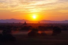 Stamp #615 - Myanmar : Sunrise Trail  Pyathadar Hpaya is one of the busier temples on the Bagan sunrise trail. Also known as Pya-Tha-Da Paya it has one of the biggest terraces of all the temples in Bagan and its location made it the perfect place to watch the sunset over Bagan. A must on your trip to Myanmar (Burma)  Thank you @theworldofro for leaving your #ShareYourStamp!! For more awesome #travel and #wanderlust tips and #adventure download the Stamp Travel #App Today. The link is in our…