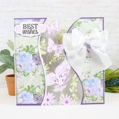 Create show-stopping designs with our fabulous Centrepiece Create-A-Card Dies! Project by Rebecca Billard Crafters Companion Cards, Inspired Learning, Embossed Cards, I Card, Centerpieces, June, Paper Crafts, Create, Handmade