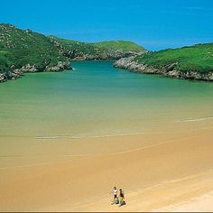 Playa de Poo, Llanes, Asturias: I just to go here since I was a baby! Portugal Vacation, Hotels Portugal, Places In Portugal, Visit Portugal, Aragon, Places To Travel, Places To See, Places Around The World, Around The Worlds