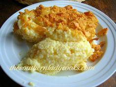 Garlic Cheese Grits TSLC
