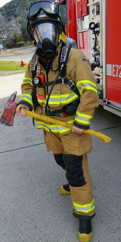 Female Firefighter...the most rewarding job I've ever done.