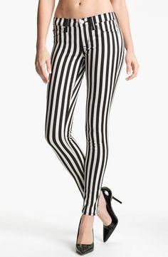 Hudson Jeans 'Krista' Stripe Super Skinny Jeans - http://womenspin.com/clothing/pants-shorts/hudson-jeans-krista-stripe-super-skinny-jeans/