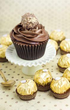 Objetivo: Cupcake Perfecto - Cupcakes de Ferrero Rocher