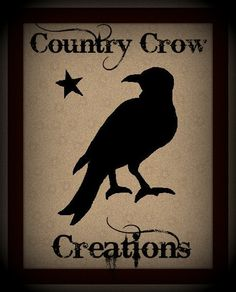 www.facebook.com/countrycrowcreations  Handmade Country/Primitive Furniture & Decor