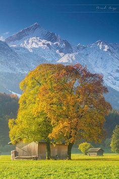 Garmisch-Partenkirchen, Bavaria, Southern Germany