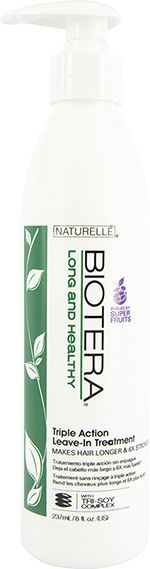 Biotera Naturelle Long & Healthy Triple Action Leave-In Treatment 236ml