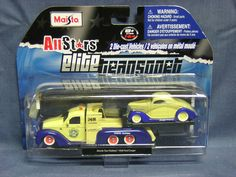 MAISTO ALL STARS 2 PK MISSILE TOW FLATBED & 1936 FORD COUPE