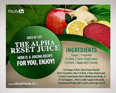 The Alpha Reset Juice Recipe