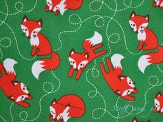 Organic Stretch Jersey fabric Lillestoff Fox 1/2 by stoffandgo