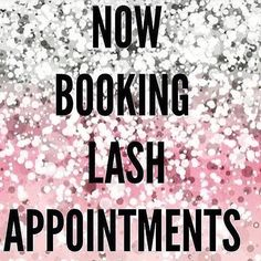 Please be quick as appointments fill up and you will be left…