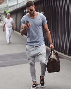 By @philippegazarstyle casual men