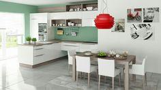 Kuchyňa GALA Biela vysoký lesk [Kitchen GALA White HG]