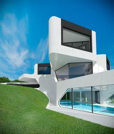 Modern minimalist house with pool tanıdık geldi bir ara yapmaya çalıştığım proje:)))))))))))))))))