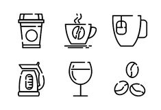 Coffee Machine and Drinks Line #ad , #ad, #SPONSORED, #Machine, #Drinks, #Line, #Coffee Drink Icon, Coffee Machine, Line, Graphic Design, Drinks, Drinking, Beverages, Fishing Line, Drink
