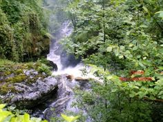 in the 'commune' of Gimel-les-Cascades in Correze, Limousin...wow!