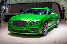 Bentley Continental GT Speed @ Geneva 2015