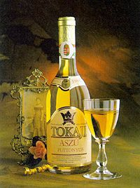 a sweet white wine from the Tokaj wine region, about 125 miles east of Budapest, Hungary. Imperial Tokay was originally made in the Imperial Austro-Hungarian cellars Hungarian Cuisine, Hungarian Recipes, Hungarian Food, Whisky, Sangria, Sweet White Wine, Wine Varietals, Wine Art, Wine And Spirits
