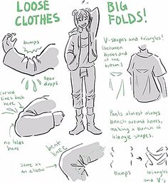 Drawing ref/inspo — Yo! Do you have any tips on drawing clothes folds. - : Drawing ref/inspo — Yo! Do you have any tips on drawing clothes folds. - : Drawing ref/inspo — Yo! Do you have any tips on drawing clothes folds. Drawing Techniques, Drawing Tips, Drawing Ideas, Sketching Tips, Anime Drawing Tutorials, Body Drawing Tutorial, Beginner Drawing, Body Tutorial, Art Du Croquis