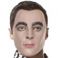 Sheldon Coopermask cooper mask, big bang, sheldon coopermask, bang theori, masks, bangs, geek demand, sheldon mask, bang geek