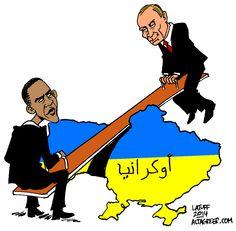Obama - Putin - Ukraina