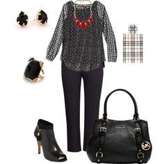Work wear 1 (plus size outfit) #plussize