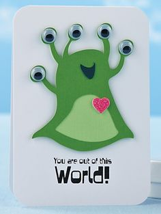 Out of This World Card by Chan Vuong