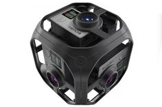 GoPro unveiled a new look at its smaller virtual reality camera rig this morning. The rig is called the Omni, and it's essentially a hollowed-out cube that holds a Hero4 Black camera on each side, for a total of six cameras capturing footage at once. When stitched together, the six cameras will create a single 360-degree video. …