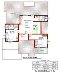 4 Bedroom Stunning Mix Designed Modern Home In 2997sqft Free Plan