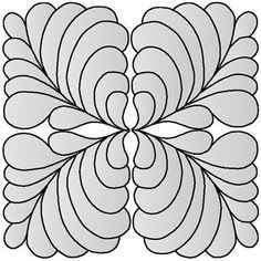 Site full of quilting designs.......feathers and more feathers. For stencils and trapunto