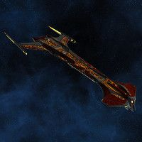 In celebration of Star Trek's 50th anniversary, Star Trek Online released an expansions dedicated to the original series. For this expansion, we created a whole suite of starships inspired by the original Enterprise. This ship is a fan-favorite design implied in canon and based on one of the original concept sketches for the Starship Enterprise. I was responsible for modeling and unwrapping this ship as well as creating its material.