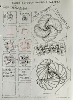 New music drawings doodles tangle patterns ideas Tangle Doodle, Tangle Art, Zen Doodle, Doodle Art, Zentangle Drawings, Doodles Zentangles, Doodle Drawings, Doodle Patterns, Zentangle Patterns