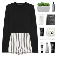 """""""when the rain starts to pour"""" by kristen-gregory-sexy-sports-babe ❤ liked on Polyvore featuring Zara, Proenza Schouler, Monki, Shiseido, Fujifilm, NARS Cosmetics, Bloomingville and bottvs"""
