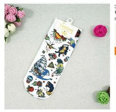 Hot! New Fashion 3D Animal Print Casual Cute Character Color Unisex socks