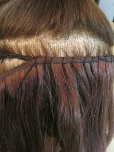 Diy ponytail extension ponytail extension ponytail and extensions sew in braidless solutioingenieria Image collections