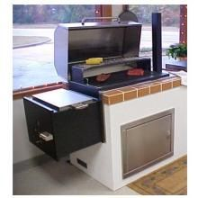 Texas Barbecues 500 Brick-In Barbecue Pit/Smoker : BBQ Guys