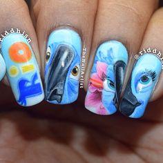 riddhisn rio #nail #nails #nailart