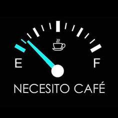 """Necesito """"café"""""""