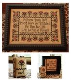 Stitch Every Day Sampler & Drum from Hands On Designs - Traditional Stitches