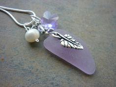 Purple Sea Glass Jewelry
