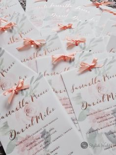 Beautiful review with unique invitation bow tied. Much inspiring! ❤❤❤ #weddingideas#weddinginvitations#stylishwedd #stylishweddinvitations #vellumweddinginvitations#springwedding#summerwedding#2021wedding