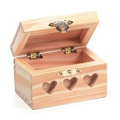 Bulk Buy: Darice DIY Crafts Wood Box Heart Cutouts 3-1/8 x 2-3/8 x 2-1/2 inches (3-Pack) 9177-68 *** You can get more details by clicking on the image.